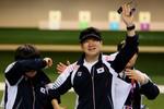 Южнокорейский стрелок Чжон Го Чжин стал чемпионом Игр впистолете с50м