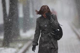 В Москву придет зима