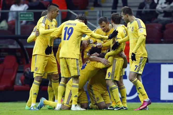 Украинцы разделяют успех друг с другом в Варшаве