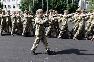 Военные учения Saber Strike-2014 в Латвии