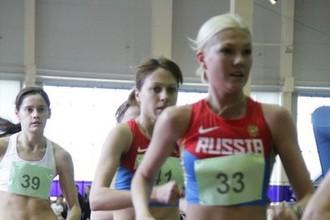 Елена Лашманова (№39), предположительно, во время чемпионата Мордовии 2014