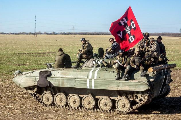 УНА-УНСО в 131-м батальоне ВСУ