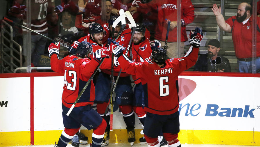 """Нападающий """"Вашингтона"""" Кузнецов стал первой звездой дня в НХЛ"""