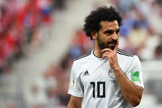 Лидер сборной Египта Мохамед Салах