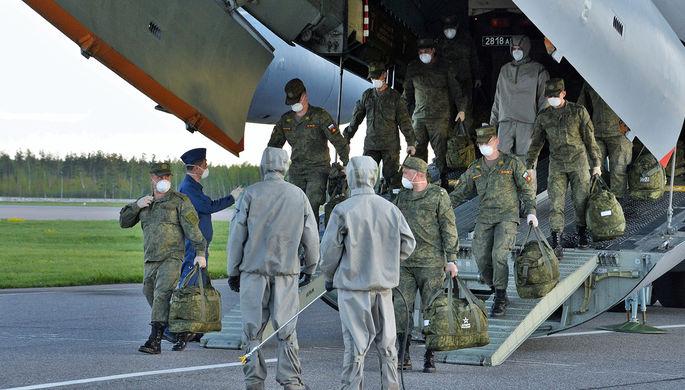 Десант в Красноярске: как военные борются с коронавирусом