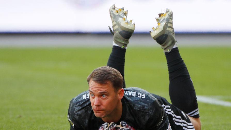 Вратарь «Баварии» Мануэль Нойер