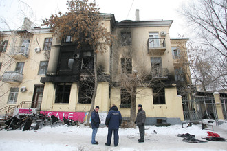 В волоградском кафе взорвался газовый баллон