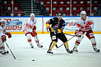 Хоккеисты МХК «Спартак» проиграли второй матч серии 1/8 финала Кубка Харламова «Алмазу»