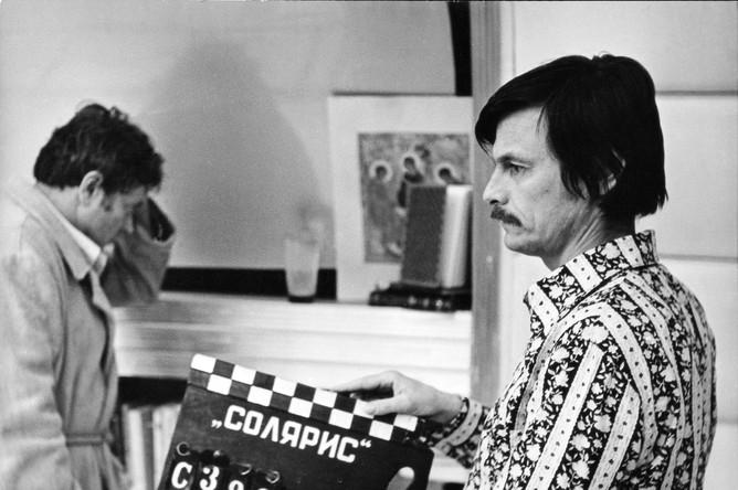 Во время работы над «Солярисом», 1972 год