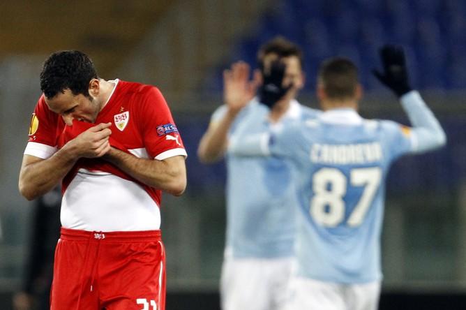 «Лацио» утер нос «Штутгарту», в том числе и его игроку Кристиану Молинаро