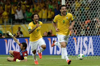 Сборная Бразилии забила четыре мяча итальянцам