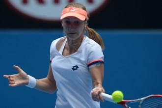 Россиянка Екатерина Макарова не смогла ничего противопоставить китаянке Ли На в 1/8 финала Australian Open
