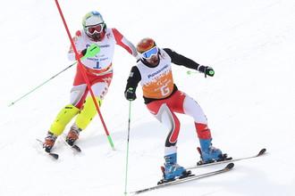 Горные лыжи принесли России в четверг два золота