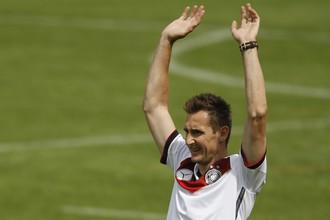 Супербомбардир Мирослав Клозе завершил карьеру в сборной Германии