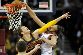 Тимофей Мозгов поведет «Кливленд» к главному трофею НБА