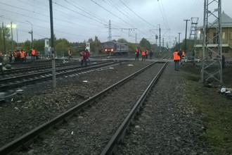 Устранении последствий аварии на железнодорожном переезде в Покрове во Владимирской области, 6 октября 2017 года