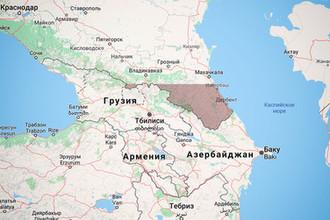 Районы России, попадающие в зону возможного падения станции