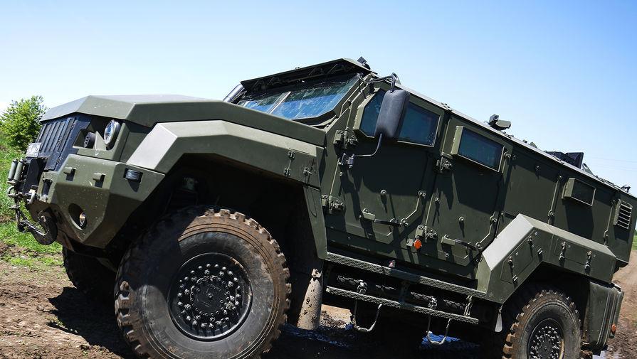 В ЦВО на вооружение поступили бронеавтомобили Тайфуненок