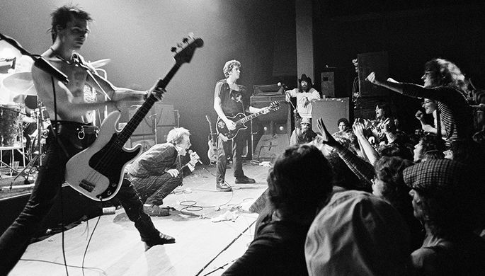 1978 год. Выступление группы Sex Pistols