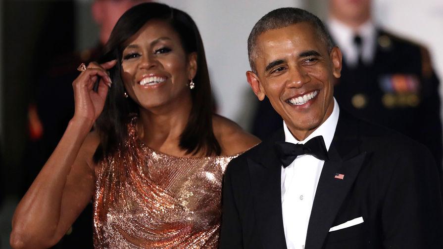 Мишель и Барак Обама будут продюсировать сериалы для Netflix