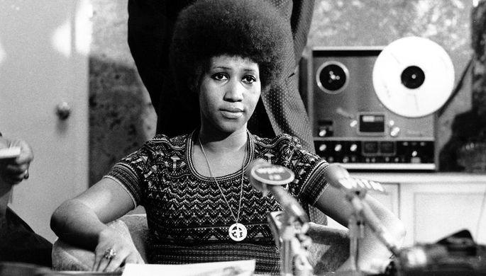 Арета Франклин, 1973 год