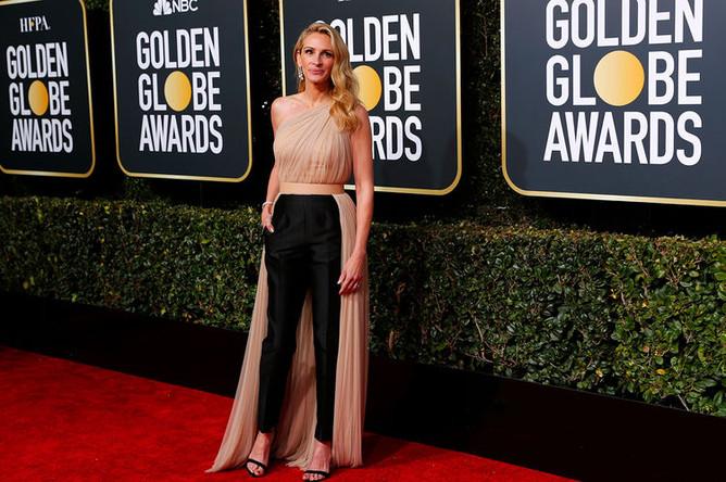 Джулия Робертс на 76-й церемонии вручения американской кинопремии «Золотой глобус» в Лос-Анджелесе, 7 января 2019 года