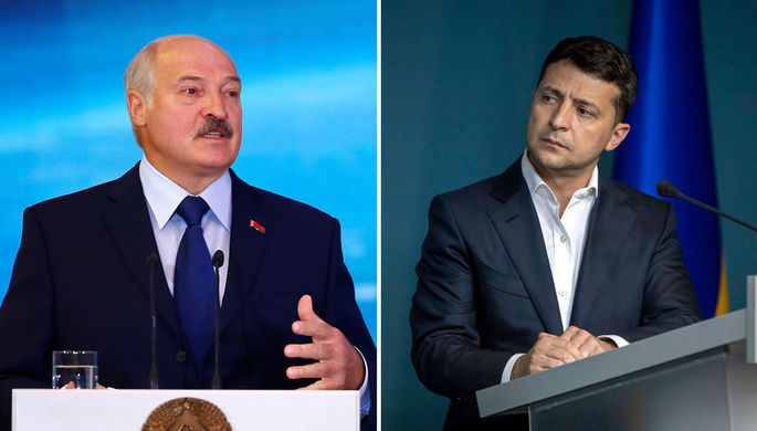 Отправка «наемников»: о чем говорили Зеленский и Лукашенко