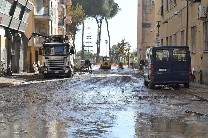 Последствия шторма «Алекс» в Италии