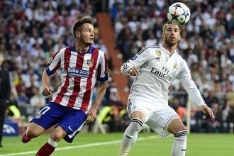 Мадридское дерби традиционно в последние годы напоминает смесь футбола с войной