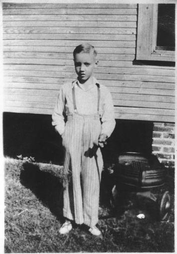 Элвис Пресли в детстве