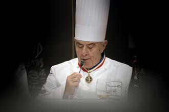 Французский шеф-повар и писатель Поль Бокюз