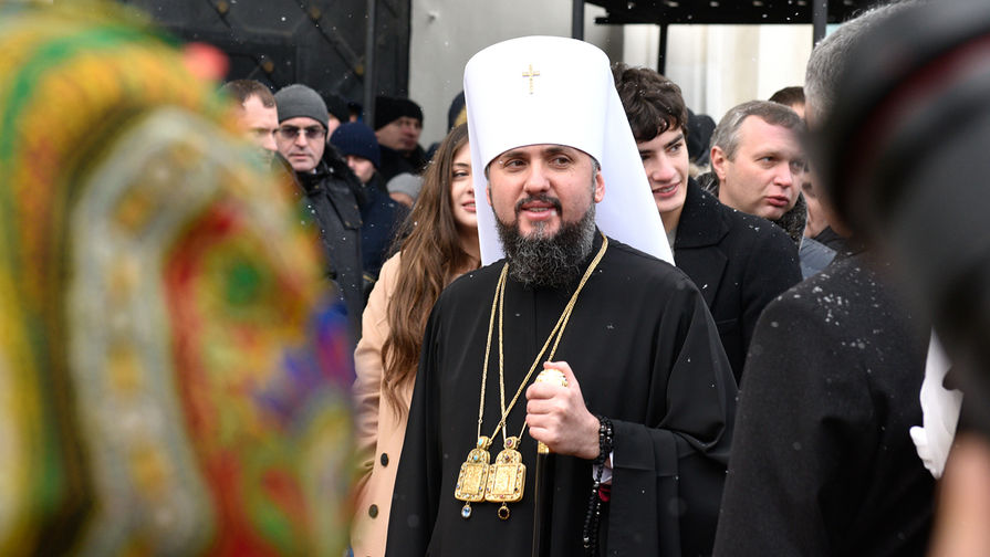 Глава новой церкви на Украине возведен на престол