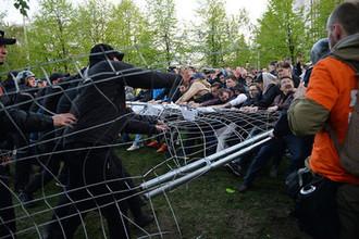 Протесты в Екатеринбурге: есть пострадавшие