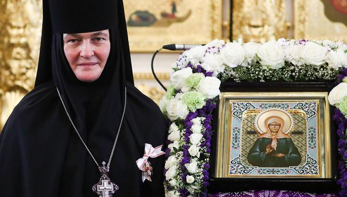 Настоятельница Покровского монастыря игумения Феофания