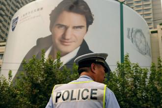 Полиция Шанхая серьезно отнеслась к угрозам в адрес Федерера