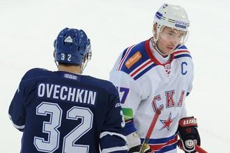 Александр Овечкин и Илья Ковальчук станут партнерами по звену на «Матче звезд» КХЛ