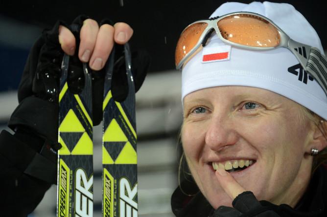 Счастье польской биатлонистки