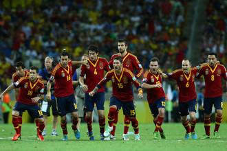 Сборная Испании вновь пробилась в финал
