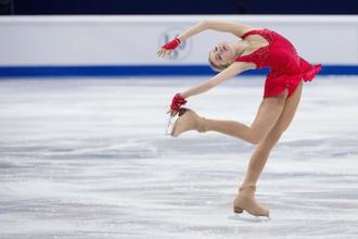 Елена Радионова откатала короткую программу безупречно