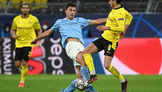 Эпизод матча «Боруссия»- «Манчестер Сити»