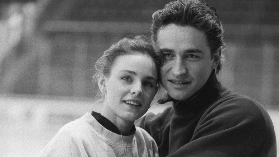 Екатерина Гордеева и Сергей Гриньков в 1994 году