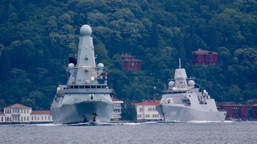 Российский адмирал оценил предупредительную стрельбу по британскому эсминцу