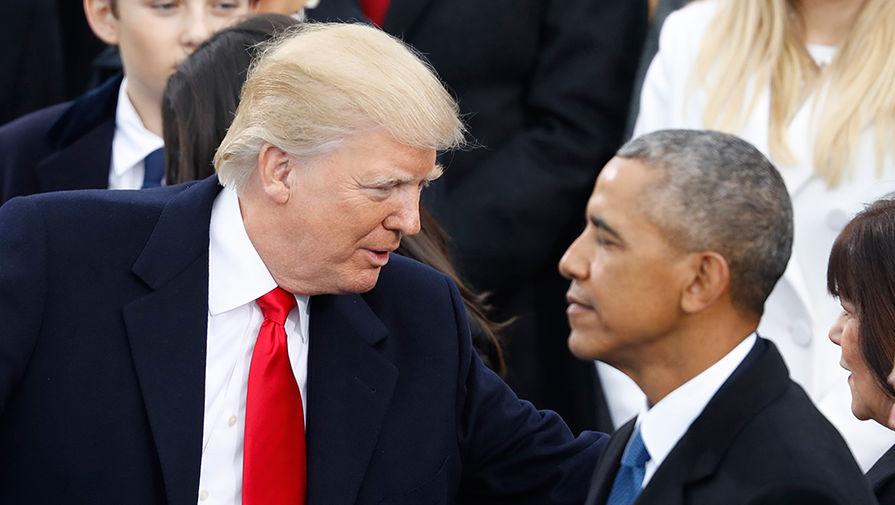 Война президентов: Трамп атакует Обаму, забыв о пандемии