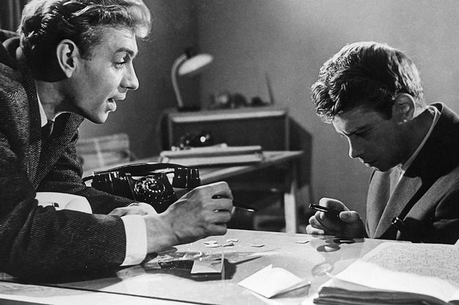 Андрей Поликанов и Александр Демьяненко в фильме «Государственный преступник», 1965 год