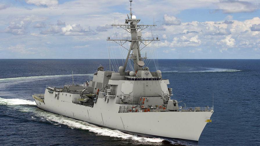 США строят новейший эсминец