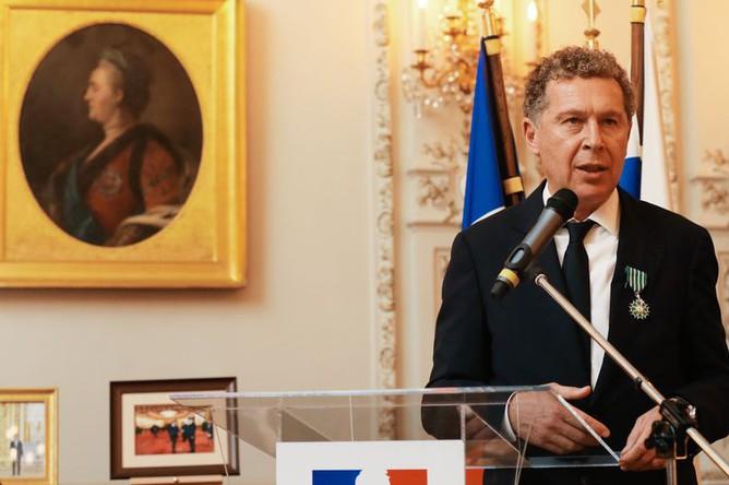 Александр Мамут в резиденции посла Французской республики в России