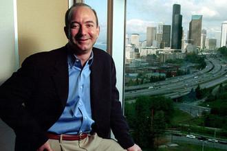 Основатель Amazon.com Джефф Безос, 2001 год