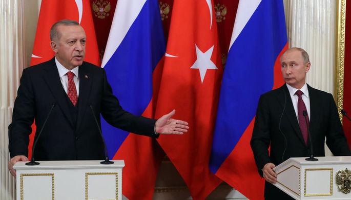 «Не интересно»: Путин отреагировал на позицию Эрдогана относительно Крыма