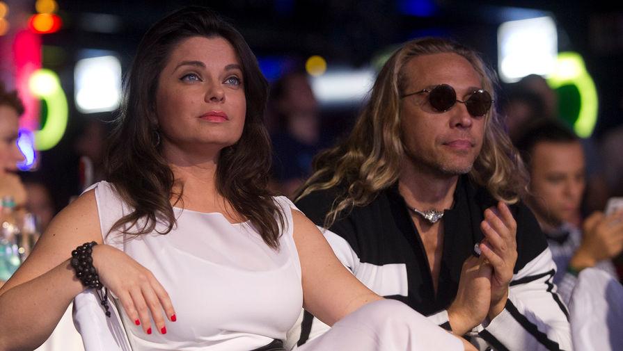 Певица Наташа Королева с супругом Сергеем Глушко (Тарзан), 2012 год