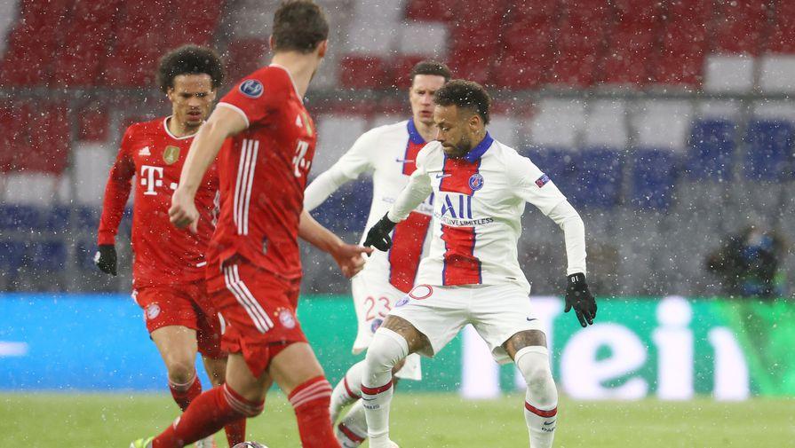 Эпизод матча «Бавария»- «ПСЖ»